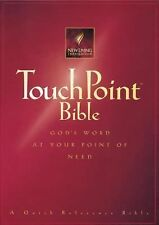 TouchPoint Bible : God's Word at Your Point of Need (1996, Paperback)