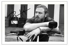 RYAN HURST SONS OF ANARCHY SIGNED PHOTO PRINT AUTOGRAPH OPIE WINSTON SOA