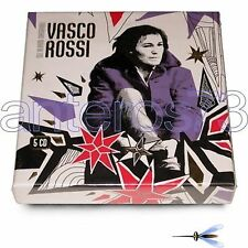 """VASCO ROSSI """"GLI ALBUM ORIGINALI"""" RARO BOX 5 CD FUORI CATALOGO - SIGILLATO"""