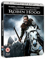 Robin Hood Blu-ray, 2-Disc Set Russell Crow. Brand new and sealed. Steelbook.