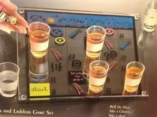 NEW ELEMENTS Shots and Ladders Drinking Party Game Set Dice Chance Glasses NIB
