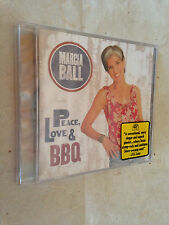 MARCIA BALL CD PEACE LOVE BBQ ALCD 4922 2008 BLUES
