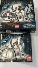 Lego Bionicle TAKUTANUVA set 8596 100% Complete & Ins includes rare gold mask