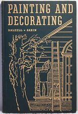 1945 PAINTING & DECORATING ESTIMATING Dalzell Paint Materials Specifications
