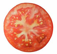 3D Tomato Slice Memory Foam Cushion Pillow Toy Seat Pad Home Decor US Seller