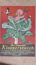 (D81) DDR-Plakat DER UNGERECHTE KLAPPERSTORCH Grafik:Schallnau