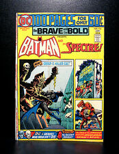 COMICS: DC: Brave and the Bold #116 (1975), 100 pages giant, Batman/Spectre