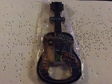 HARD ROCK CAFE SENTISA SINGAPORE CITY BOTTLE OPENER MAGNET GUITAR SHAPE