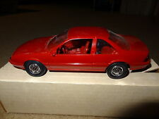 1988 88 Chevy Beretta promo model car. red. with non original box. promotional