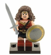 WONDER WOMAN MINIFIGURE TOY DC COMICS CUSTOM MOVIE BATMAN V SUPERMAN US SELLER