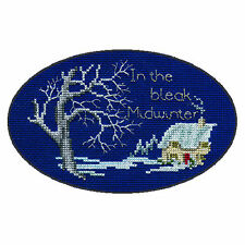 Derwentwater Designs Christmas Cross Stitch Card Kit - Midwinter