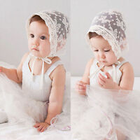 Cute Baby Toddler Infant Kids Girls Flower Hollow Out Summer Sun Hat Cap Baby AS