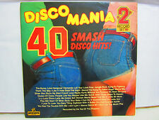 The Top Of The Poppers - Disco Mania - 2 x LP - UK - 1976 - VG+/VG+
