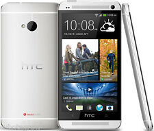 Silver HTC ONE M7 32GB 3G Mobile Smart Phone Android Factory Unlocked 4.7'' inch