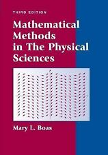 Mathematical Methods in the Physical Sciences, Boas, Mary L., Good Book