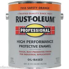 2 Gal Safety Orange Rust-Oleum VOC Compliant Rust Control Enamel Paint 245477