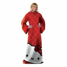 Hello Kitty Red Diamond Full Body Comfy Snuggie Blanket