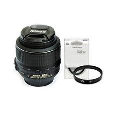 Nikon AF-S DX Nikkor 18-55mm f/3.5-5.6G VR Lens NEW Bulk Package + UV