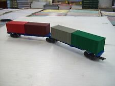FRATESCHI SHARED BOGIE CONTAINER WAGON