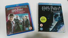 HARRY POTTER Y EL PRINCIPE MESTIZO THE HALF-BLOOD PRINCE BLU-RAY 3 DISC CUBIERTA