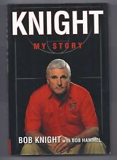 Knight My Story by Bob Knight Hardcover Book