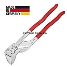 "Knipex 12"" Pliers Wrench 8603300 Adjustable Wrench Hybrid Tool Germany"