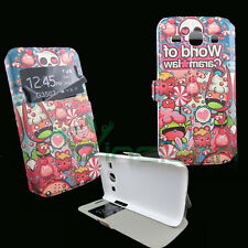 Custodia cover STAND S-View CANDY STORE p Samsung Galaxy Core Plus G350 finestra