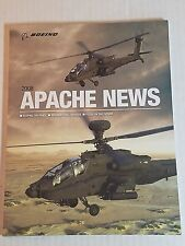 Boeing Apache News 2008 NEW 66 Pages Helicopter Booklet Army