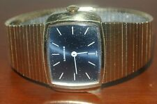 VINTAGE LONGINES ART DECO LOOK DARK BLUE FACE WOMEN'S WATCH