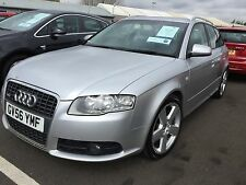 56 AUDI A4 S-LINE QUATTRO TDI 3LT V6 FULL LEATHER,COLOUR SAT NAV,CLIMATE,H/SEATS