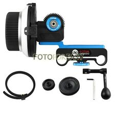 FOTGA DP3000 DSLR Follow Focus for 15mm Rod Rig 5D MK II III +Speed Crank +Gears
