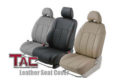 2009-2011 Toyota Tacoma Double Cab -Gray - Leather Seat Covers