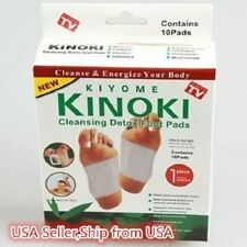 Kinoki 10 Herbal Detox Foot Pads Detoxification Cleansing Patches