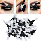 Pro 50pcs Disposable Double Ended Sponge Brush Eye Shadow Lip Applicator Tools