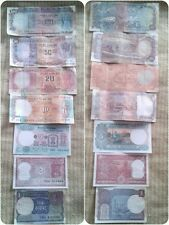 "~FULL SET~INDIAN OLD NOTES~100+50+20+10+5+2+1=TOTAL ""7"" NOTES~RARE COLLECTION~"