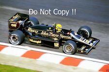 Ayrton Senna JPS Lotus 98T Belgian Grand Prix 1986 Photograph