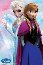 DISNEY FROZEN MOVIE ANNA AND ELSA POSTER PRINT 22x34 NEW FREE SHIPPING
