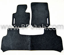 Genuine OEM 2003~2010 Range Rover Supercharged Black Carpet Floor Mat Mats OEM