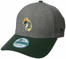 """GREEN BAY PACKERS NEW ERA 9FORTY """"THE LEAGUE"""" HISTORIC GRAY OSFM HAT CAP NEW"""