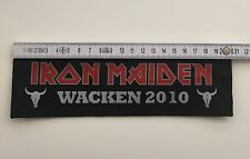 Iron Maiden - Logo Superstrip Aufnäher/Patch (Sammlung, Wacken 2010)