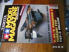 1µ?a Revue Tamiya Model Magazine n°22 Jaguar armée de l'Air F-4C/D Hellcat F50