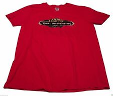 LEAGUE OF LEGENDS World Championship Red Large Shirt Video Gamer eSports Riot