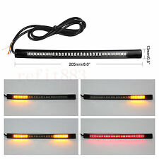 48-SMD LED Bar Brake Tail Light & Left/Right Turn Signal Lamp for Honda Moto