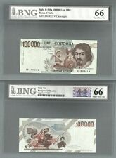 ITALY P-110a 100000 LIRE 1983 BNG 66 GEM UNCIRCULATED