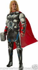Avengers Age Of Ultron Thor Deluxe Muscle Adult Costume Brand New - 810293