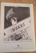 JIMMY McCULLOCH (WINGS) 'The Dukes' 1979 UK Poster size Press ADVERT 16x12 inch