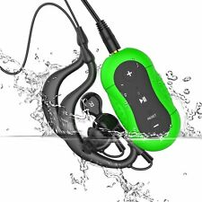 Green Aerb 4GB IPX-8 Waterproof Swimming Diving Sports MP3 Music Player