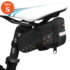 Ibera Bike Strap-on Saddle Bag Cycling Frame Saddle Pouch NEW SB11-S