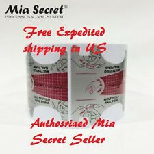 Mia Secret Nail Form Multystilo 500 Pcs Authentic Brand Free Expedited ship