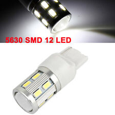 T20 7440 Car 12 5630 SMD LED Lens Light Turning Signal Lamp Strob Flash White